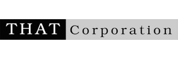 THAT Corporation-ロゴ