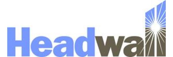 Headwall Photonics, Inc.-ロゴ